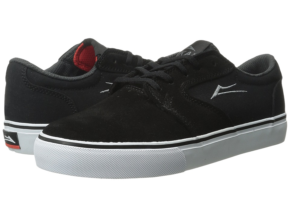 Lakai - Fura (Black Suede/Canvas 1) Men's Skate Shoes