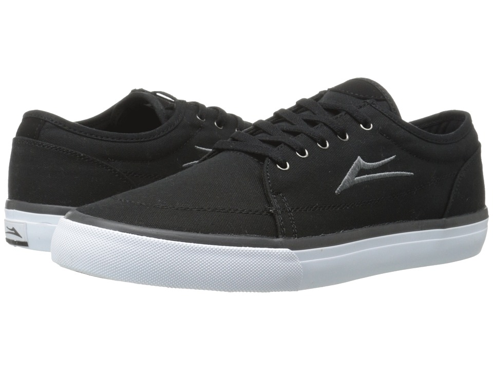 Lakai - Madison (Black Canvas) Men's Skate Shoes