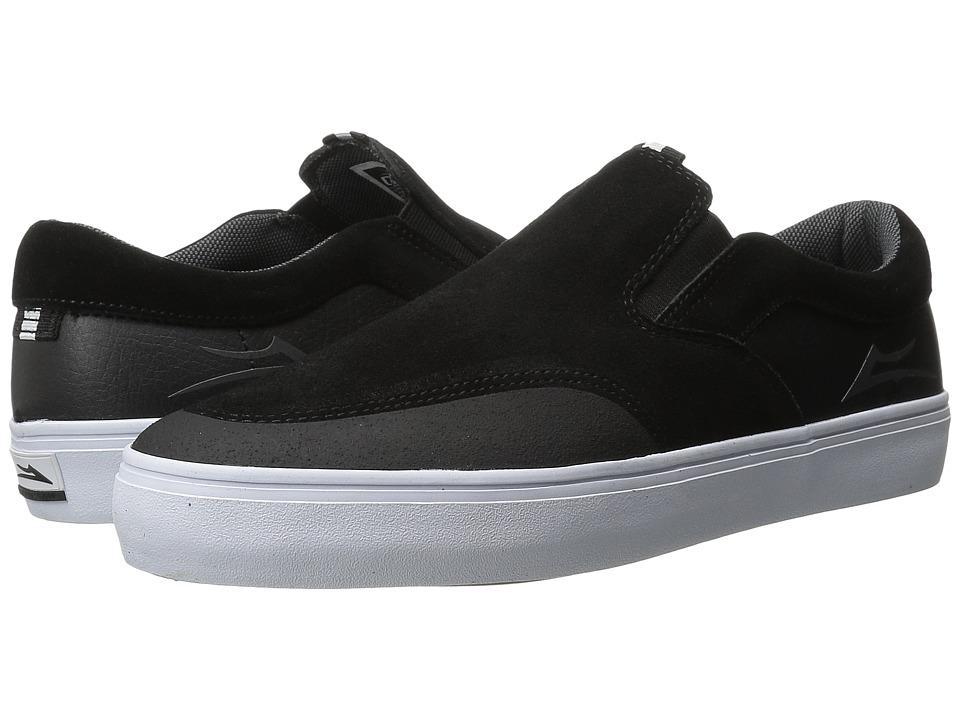 Lakai - Owen (Black Suede) Men's Skate Shoes
