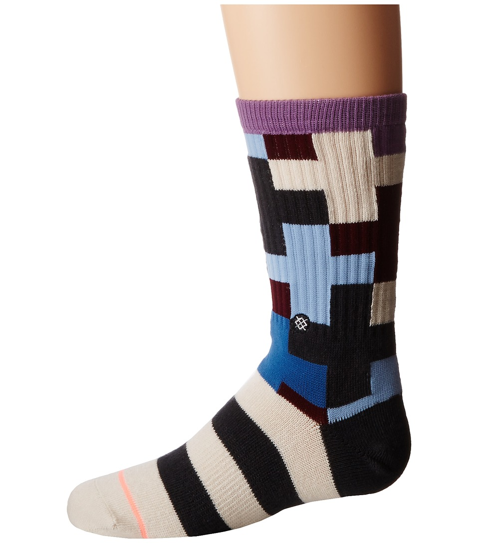 Stance - Harocross (Little Kids/Big Kids) (Blue) Women's Crew Cut Socks Shoes