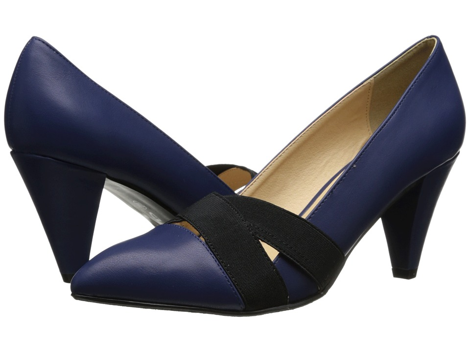 CL By Laundry - Aliza Kid (Navy) Women's 1-2 inch heel Shoes