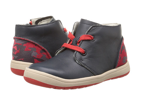 Clarks Kids - Maltby Run (Toddler/Little Kid) (Navy) Boy's Shoes