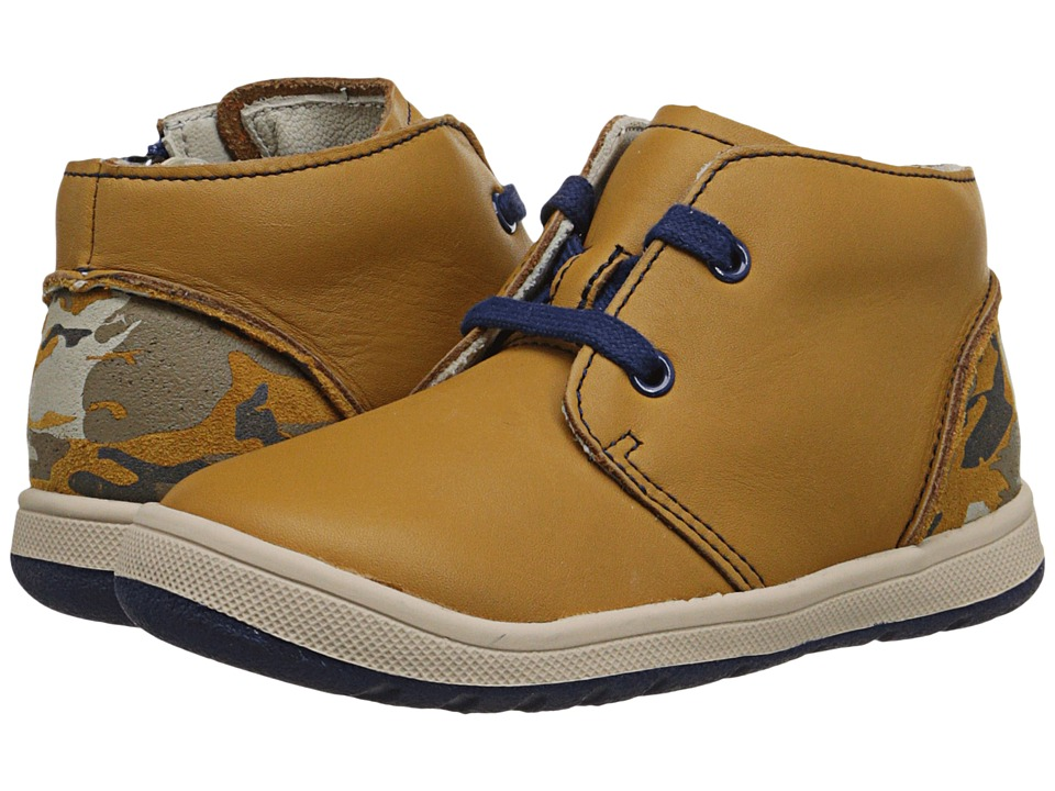Clarks Kids - Maltby Run (Toddler/Little Kid) (Tan) Boy