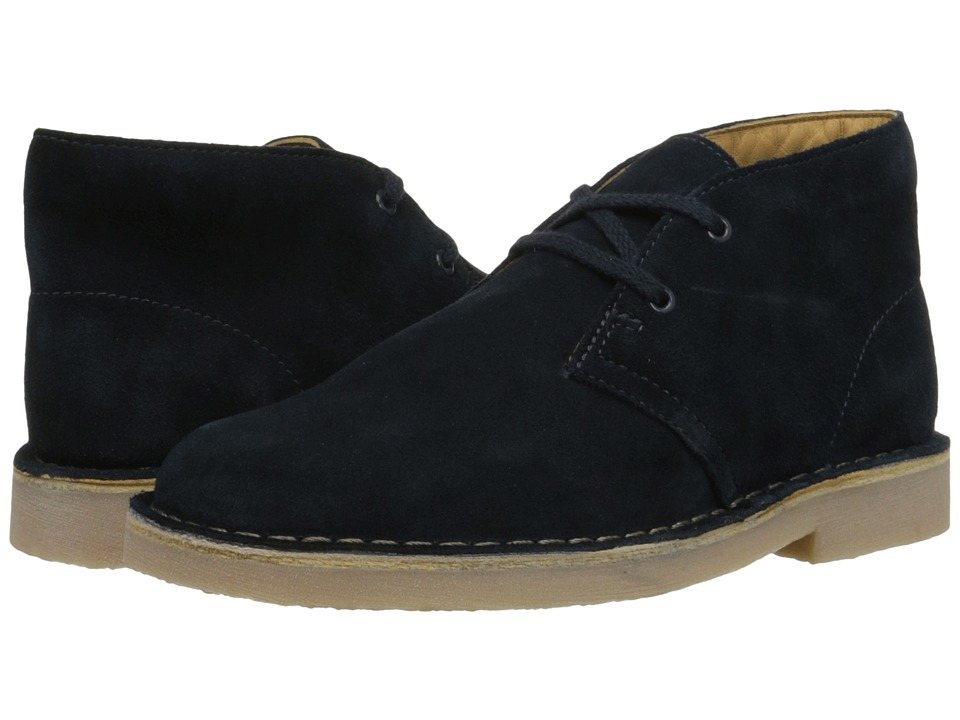 Clarks Kids - Desert Boot (Little Kid/Big Kid) (Blue Suede) Boys Shoes