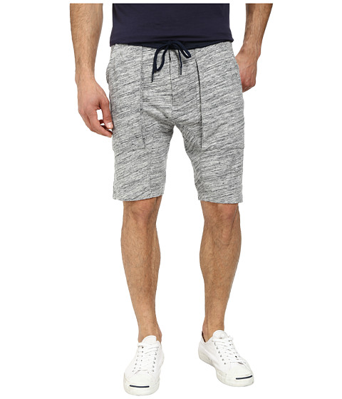 Joe's Jeans - Cohen Jogger Shorts (Grey/Navy) Men's Shorts