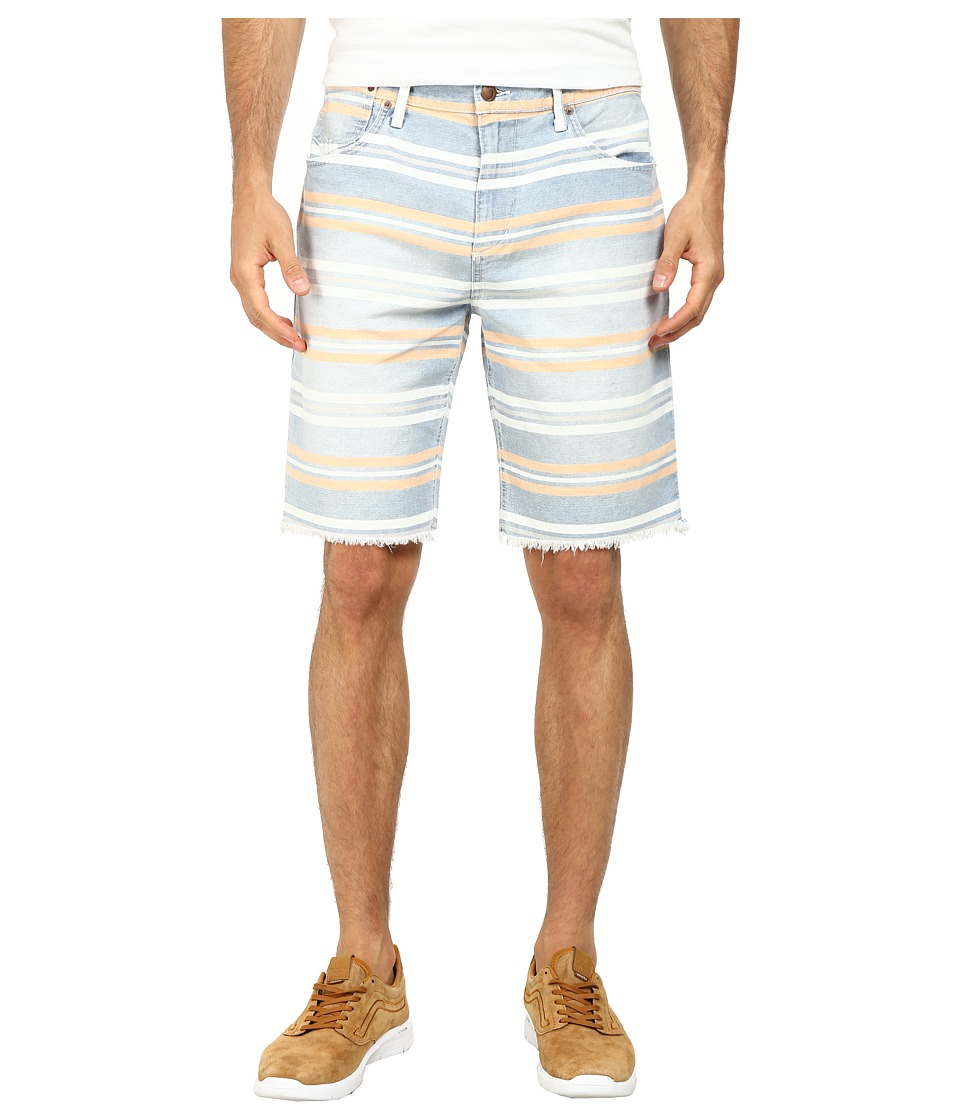 Joe's Jeans - Cut off Shorts in Tangier Bay Stripe (Tangier Bay Stripe) Men's Shorts
