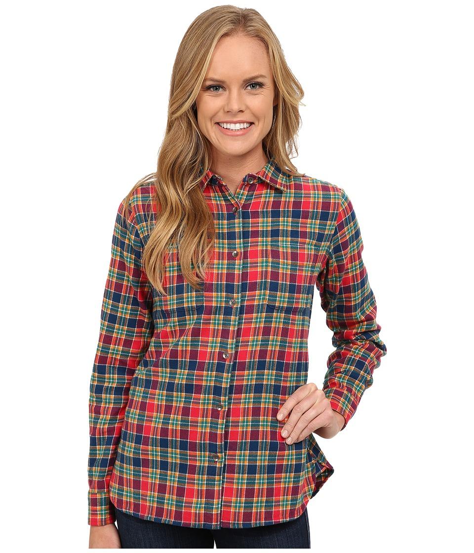 Woolrich - The Pemberton Shirt (Poppy Multi) Women