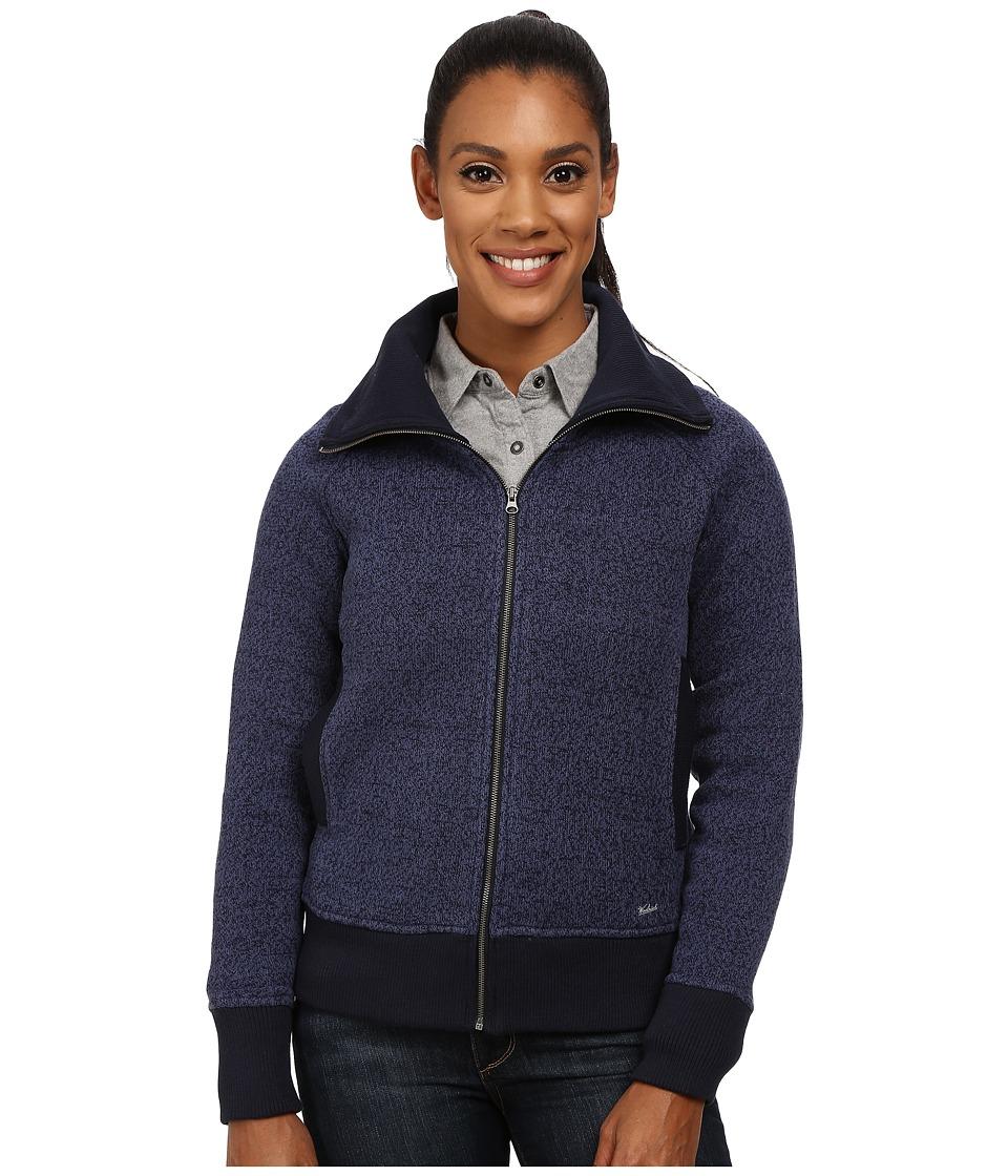 Woolrich - Double Creek Fleece Full Zip (Navy) Women's Coat