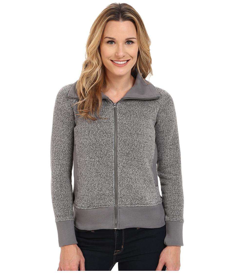Woolrich - Double Creek Fleece Full Zip (Gray) Women's Coat