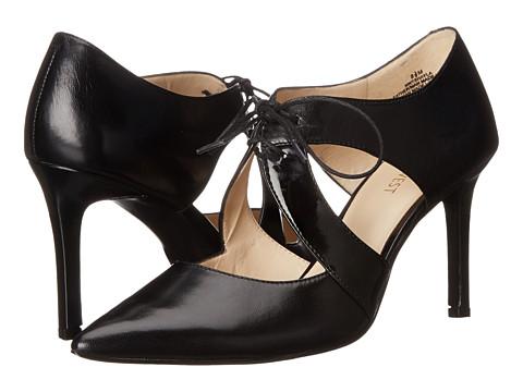 Nine West - Shayla (Black/Black Vetro Kid/Lux Patent PU) High Heels