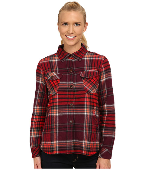Woolrich - Oxbow Bend Shirt Jac (Fig Multi) Women's Long Sleeve Button Up