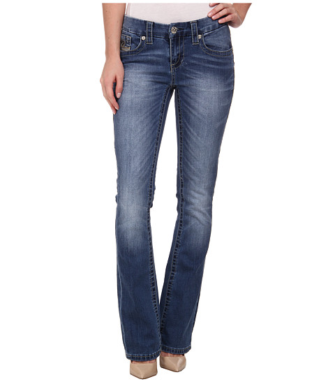 Seven7 Jeans - Slim Boot Jeans in Liberty Blue (Liberty Blue) Women's Jeans