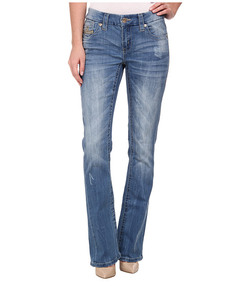 Seven7 Jeans - Slim Boot Jeans in Storm Blue (Storm Blue) Women
