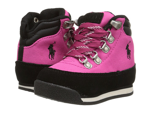 Polo Ralph Lauren Kids - Blitz Hiker (Toddler) (Pink Cordura Nylon/Hi Abrasion PU) Kid's Shoes