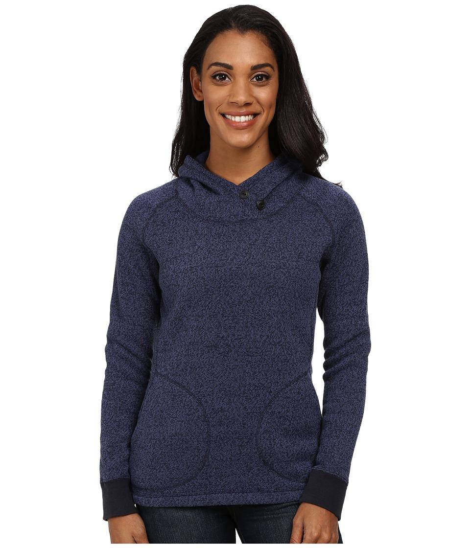 Woolrich - Double Creek Fleece Hoodie (Navy) Women