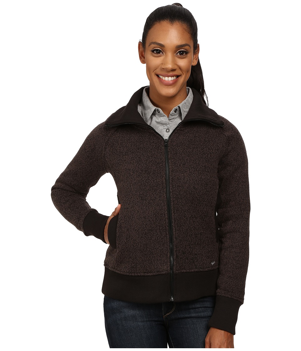 Woolrich - Double Creek Fleece Full Zip (Black) Women's Coat