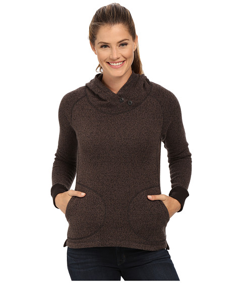 Woolrich - Double Creek Fleece Hoodie (Black) Women