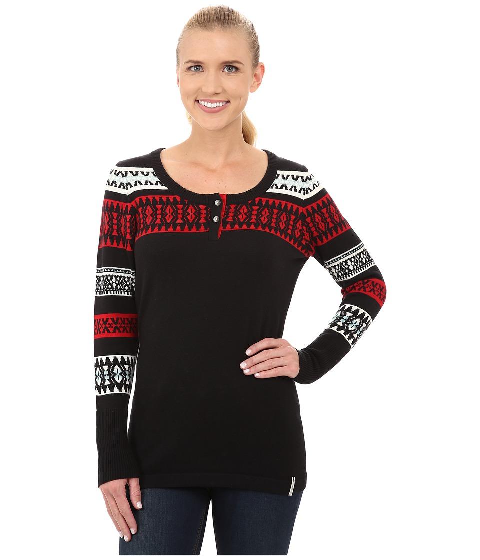Woolrich - Avalanche Sweater III (Black) Women's Sweater