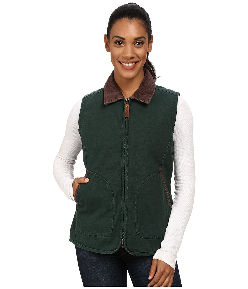 Woolrich - Dorrington Vest (Blue Fir) Women