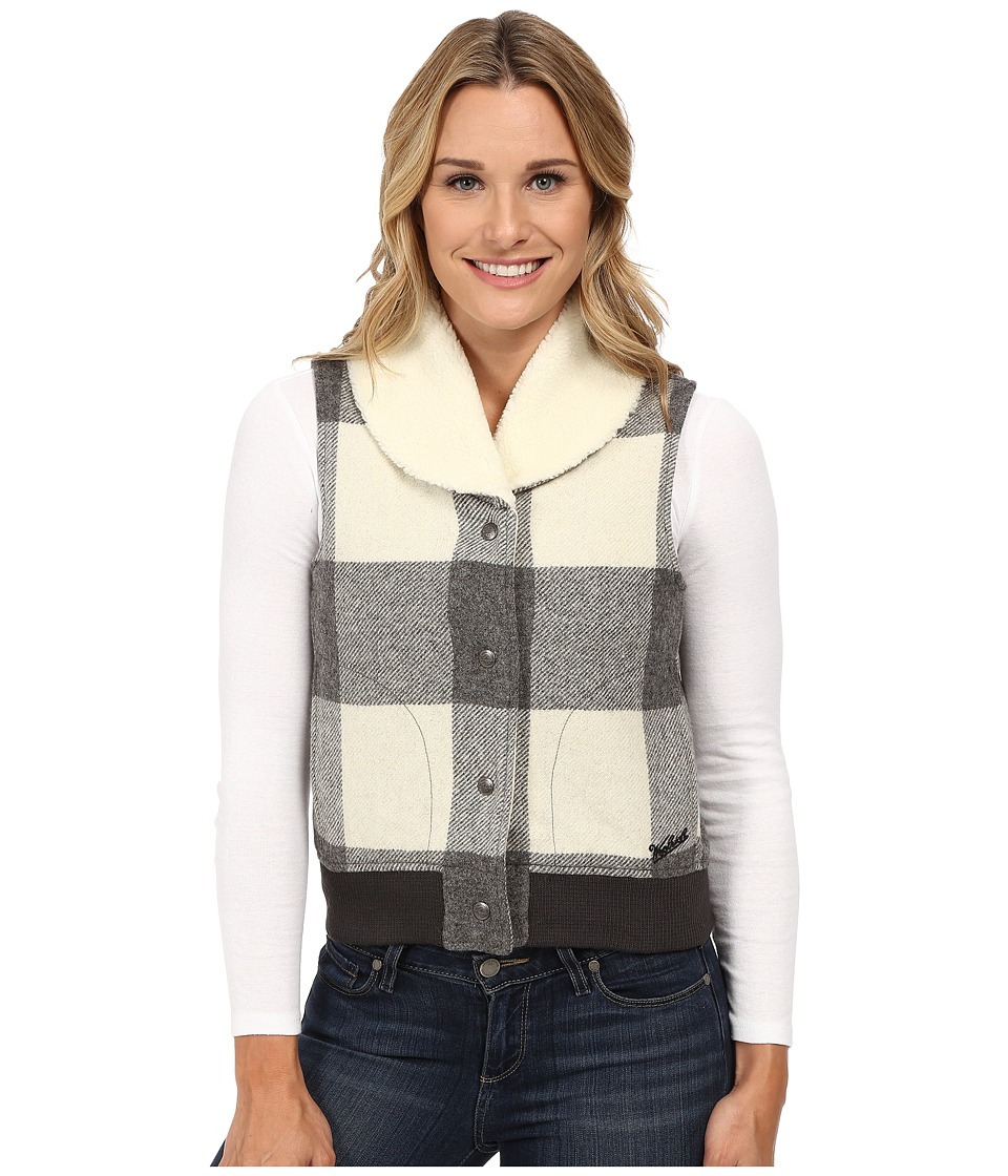 Woolrich - Giant Buffalo Wool Vest (Wool Cream) Women's Vest