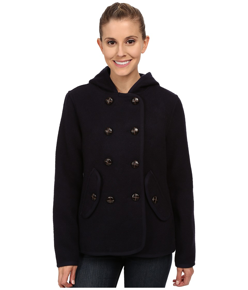 Woolrich - Century Wool Peacoat (Navy) Women