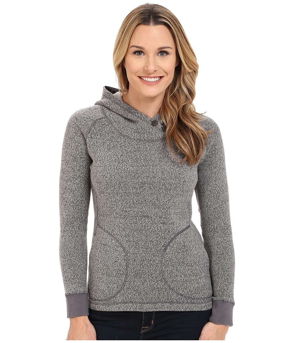 Woolrich - Double Creek Fleece Hoodie (Gray) Women's Sweatshirt