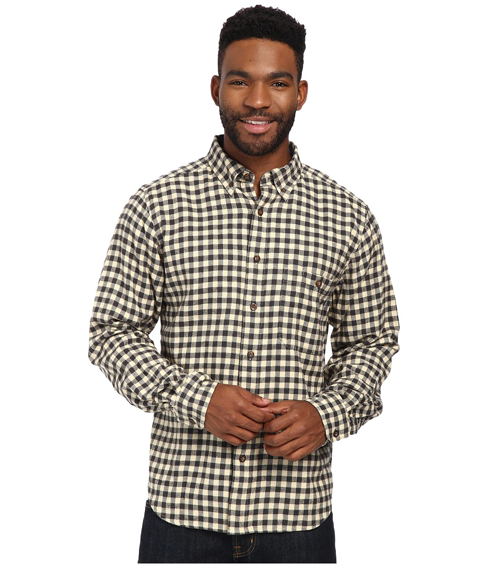Woolrich - Trout Run Flannel Shirt (Slate Small Buffalo) Men's Long Sleeve Button Up