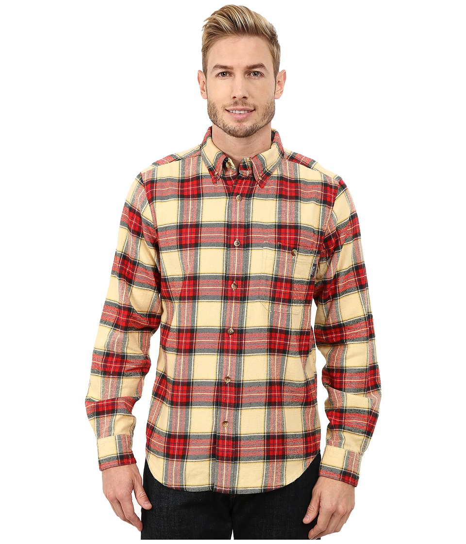 Woolrich - Trout Run Flannel Shirt Modern Fit (Chamois) Men
