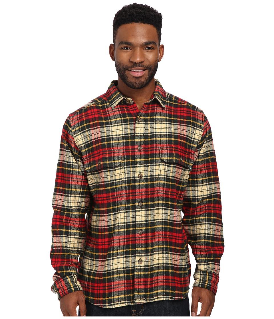 Woolrich - Oxbow Bend Flannel Shirt (Black Forest Pine) Men