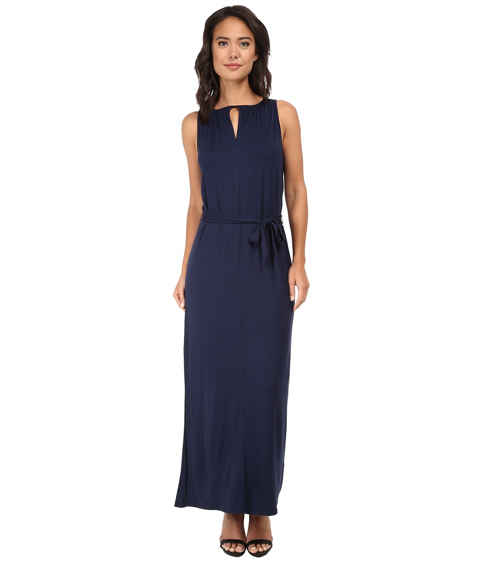 Three Dots - Sleeveless Maxi Dress (Night Iris) Women's Dress