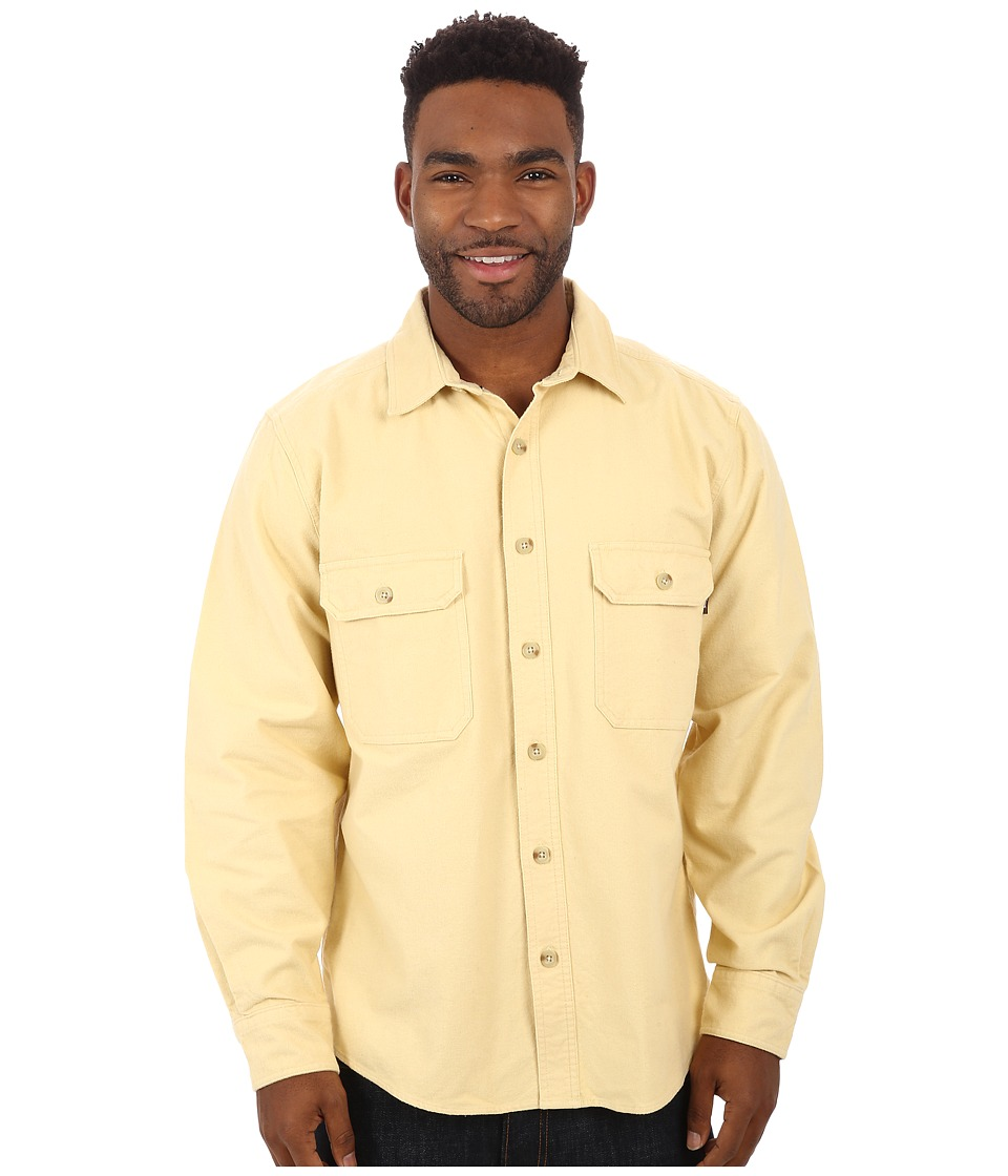 Woolrich - Expedition Chamois Shirt (Chamois) Men's Long Sleeve Button Up