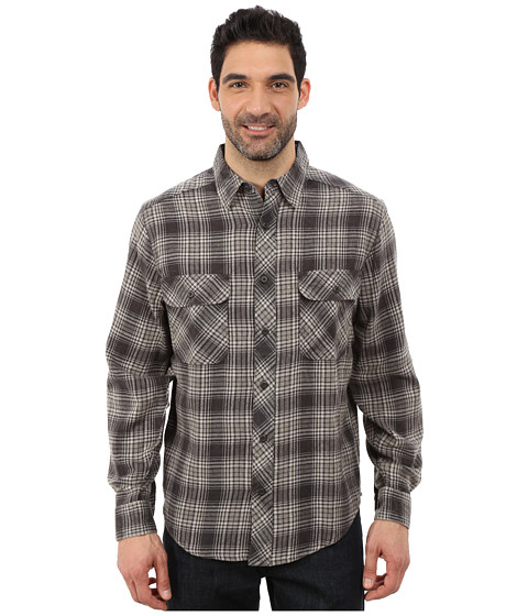 Woolrich - Miners Wash Flannel Shirt (Coal) Men