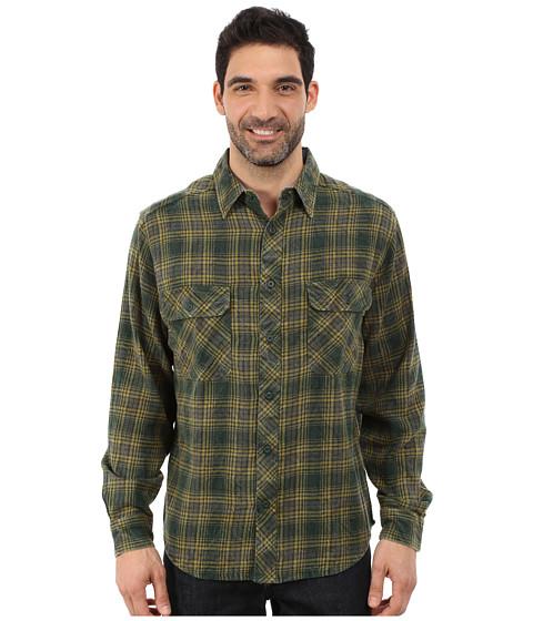 Woolrich - Miners Wash Flannel Shirt (Black Forest Pine) Men