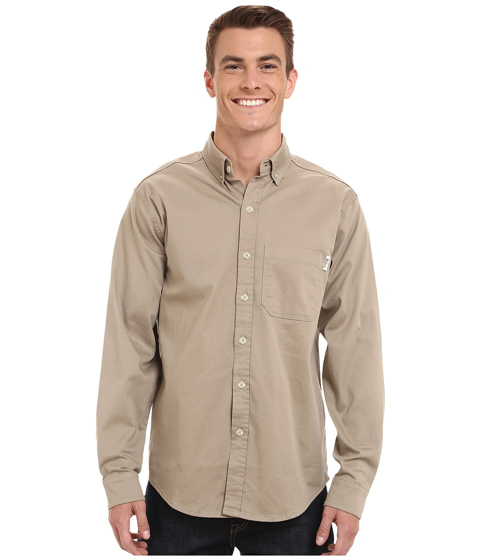 Woolrich - Cast Iron Shirt (Khaki) Men's Clothing