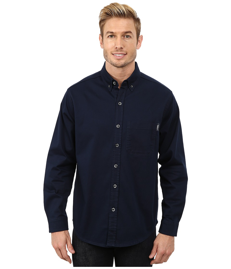 Woolrich - Cast Iron Shirt (Deep Indigo) Men's Clothing