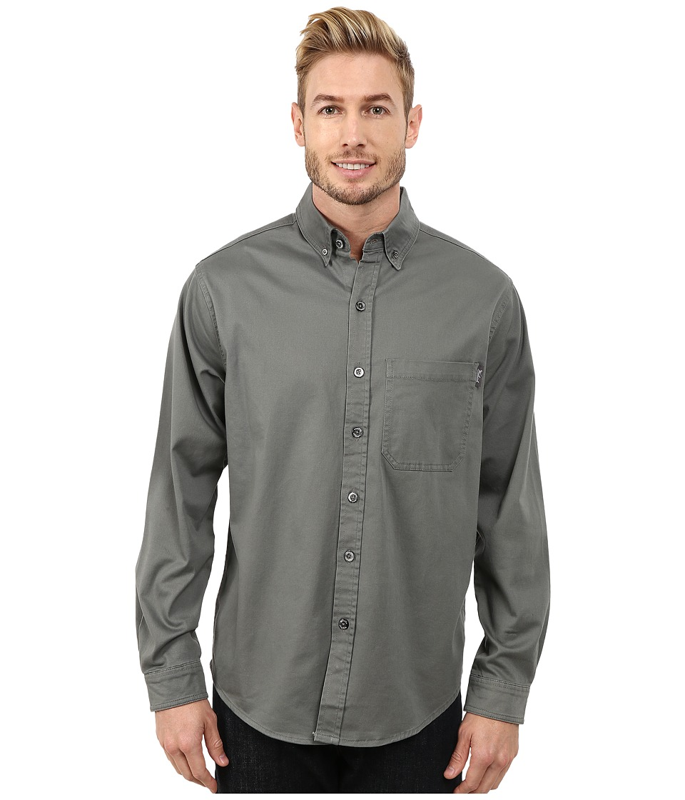Woolrich - Cast Iron Shirt (Field Grey) Men's Clothing