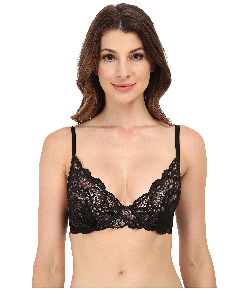 Calvin Klein Underwear - Provocative Plunge Update (Black) Women's Bra