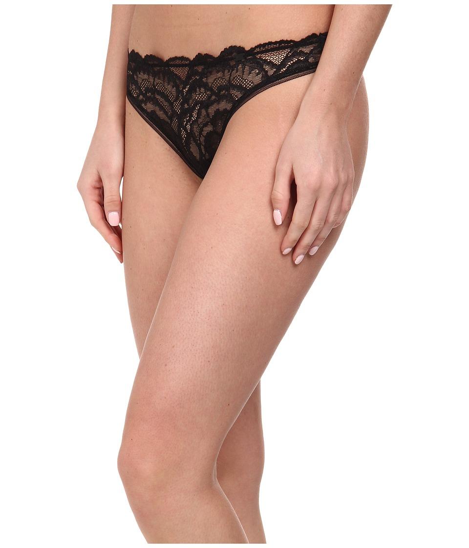 Calvin Klein Underwear - Thong QF1138 (Black) Women