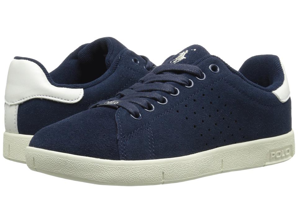 Polo Ralph Lauren Kids - Wilton (Big Kid) (Navy Suede) Boy's Shoes