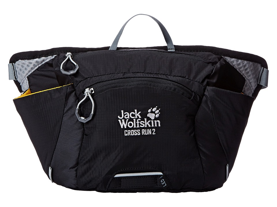 Jack Wolfskin - Cross Run 2 (Black) Backpack Bags