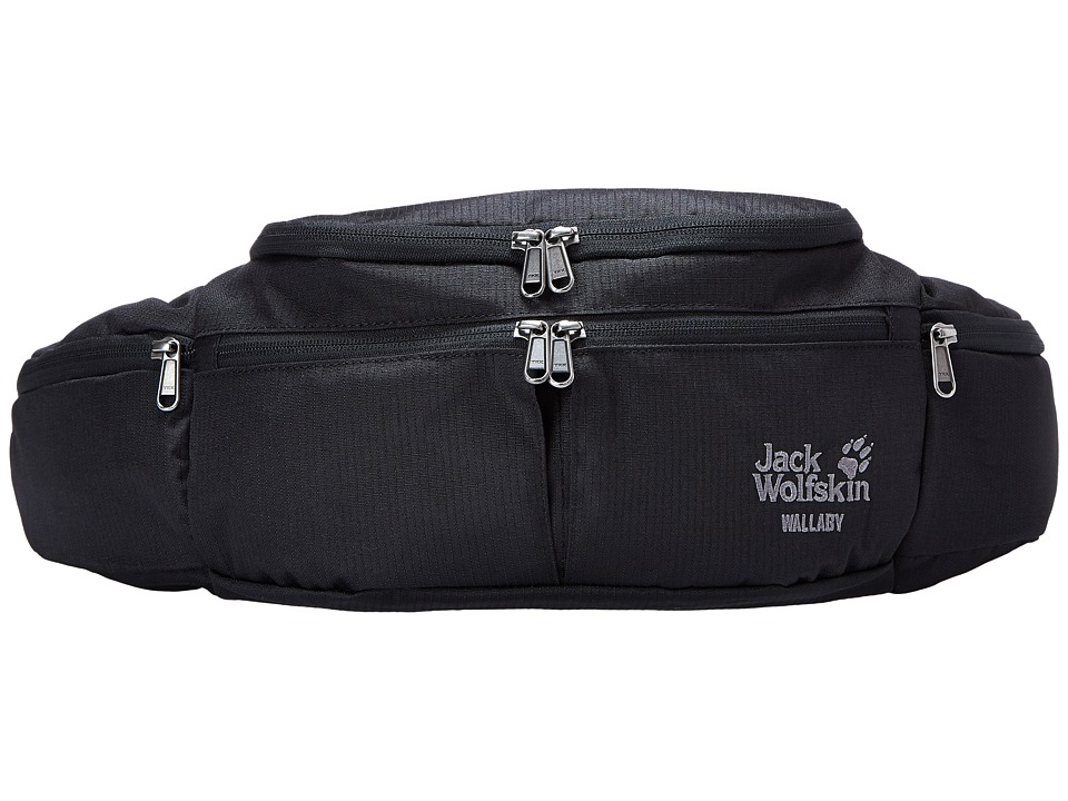 Jack Wolfskin - Wallaby (Black) Backpack Bags