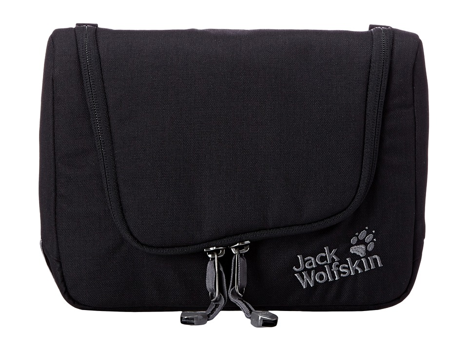 Jack Wolfskin - Harbourfield Travel Kit (Black) Messenger Bags