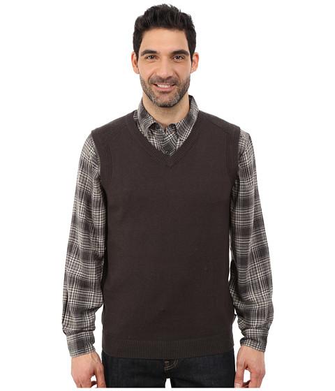 Woolrich - Highlands Vest (Coal) Men