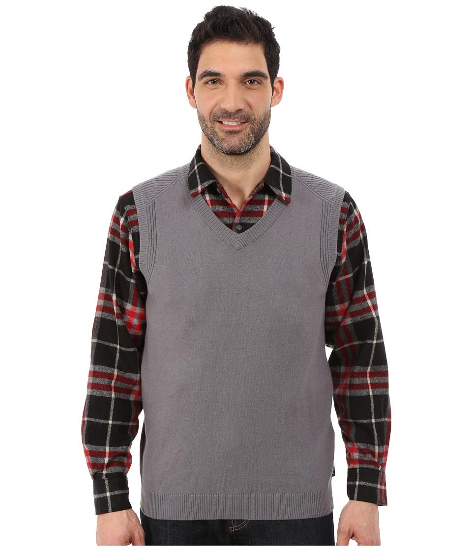 Woolrich - Highlands Vest (Dark Ash) Men's Vest