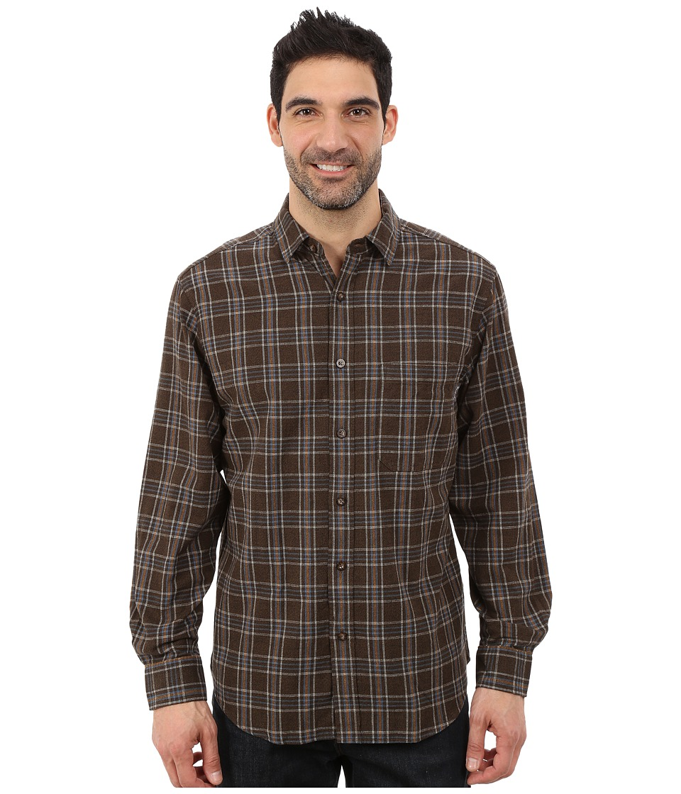 Woolrich - Rock Pass Shirt (Trail Brown) Men's Clothing