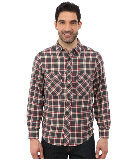 Woolrich - Miners Wash Flannel Shirt (Coal Check) Men's Clothing