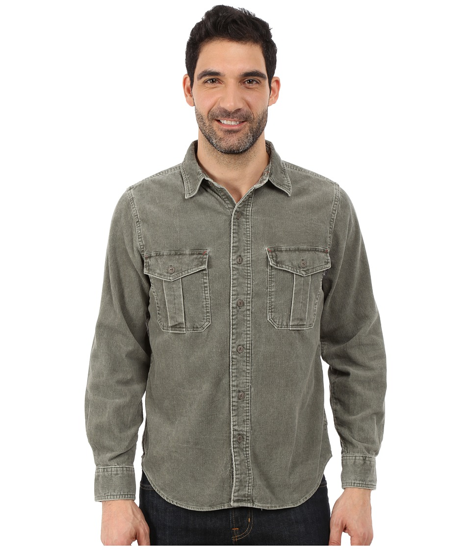 Woolrich - Hemlock Cord Shirt Modern (Dark Shale) Men's Clothing