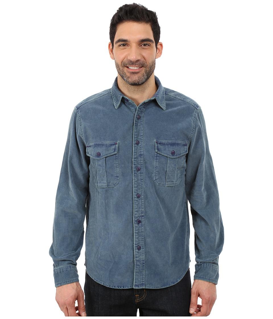 Woolrich - Hemlock Cord Shirt Modern (Deep Indigo) Men's Clothing