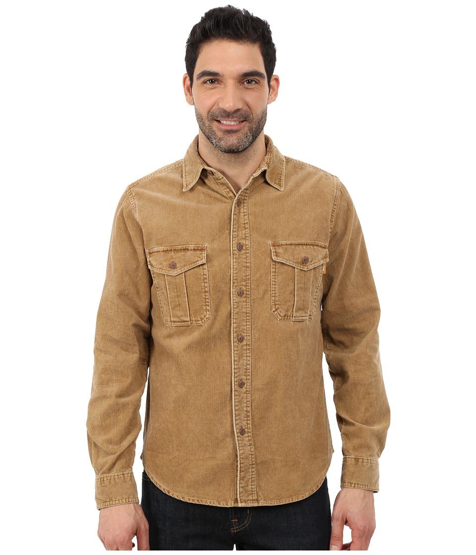 Woolrich - Hemlock Cord Shirt Modern (Chicory) Men's Clothing