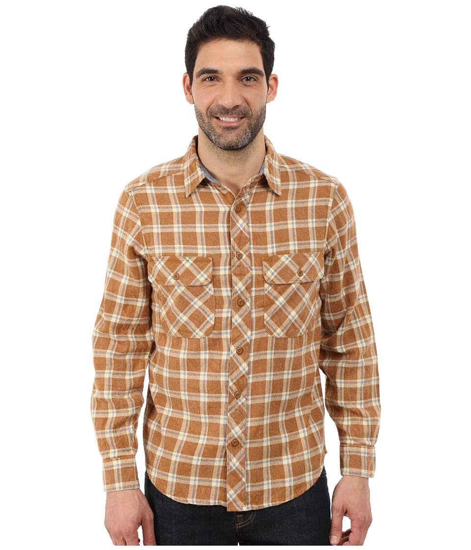 Woolrich - Miners Wash Flannel Shirt (Chicory Check) Men